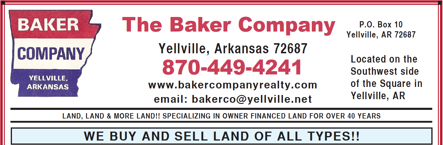 The Baker Company � Yellville, AR Real Estate