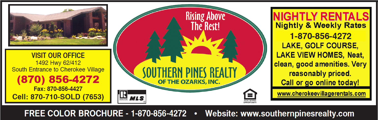 Southern Pines Realty of the Ozarks, Inc � Cherokee Village, AR Real Estate